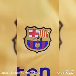 لباس دوم بارسلونا | فرو...