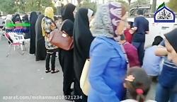 خادمین مسجد امام محمد باقر زنجان