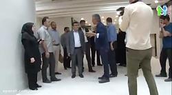 حضور مشاور وزیر بهداشت ...