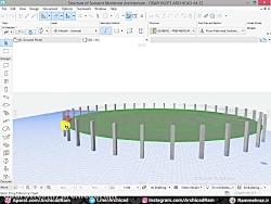 آموزش طراحی استادیوم و...