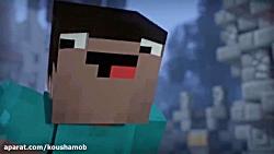 انیمیشن Blocking dead ماینکر...