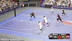 گیم پلی جذاب از بازی NBA2K...