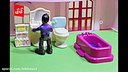 خانه باربی عروسکی با لو...