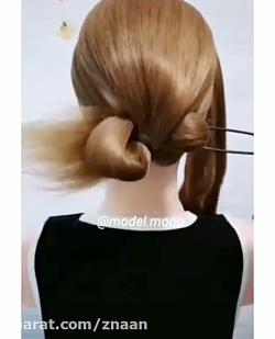 فیلم آموزشی مدل مو زیبا...