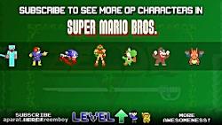 لینک در بازی سوپر ماریو...