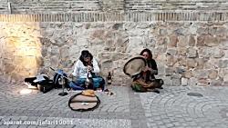 موسیقی خیابانی در حافظ...