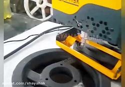 دستگاه حکاکی پرتابل دسته تفنگی / حکاکی پولی و چرخ دنده صنعتی