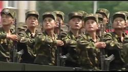 رژه ارتش كره شمالی در سال2014 (كیفیتHD)