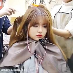 دختر ناز کره ای