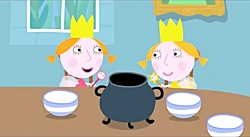 Ben And Holly's Little Kingdom | Daisy And Poppy | Queen Thistle's Teapot