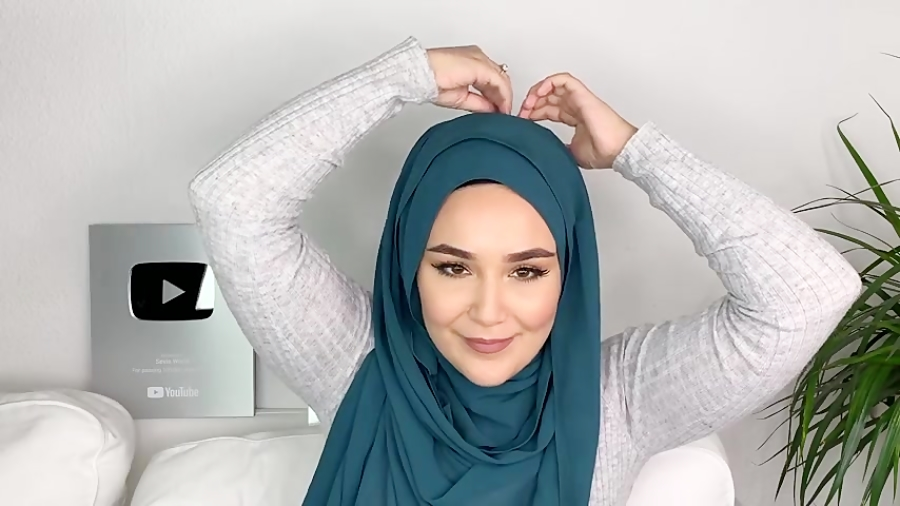 3 مدل بستن شال روسری شیک برای خانم های محجبه