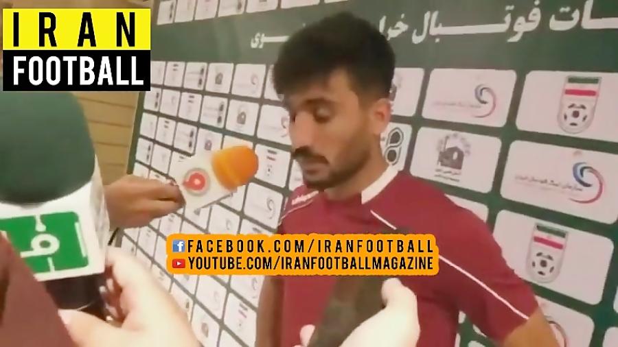 مصاحبه بازیکنان شهرخودرو و شاهین بوشهر بعد از بازی - هفته دوم لیگ برتر ایران
