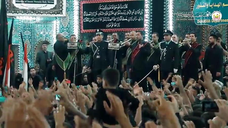 کربلا  پرچم امام حسین لبیک یاحسین