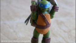 استاپ موشن داستان اسباب بازی لاکپشت های نینجا مرگ شریدر