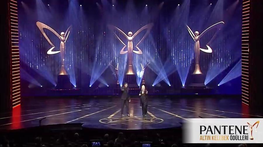 Pantene Altın Kelebek - Muazzez Abacı  Ferman Akgül'ün Harika Düeti