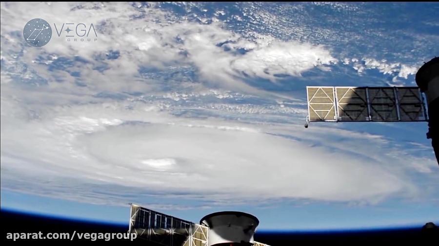 تصویر طوفان درجه 5 دورین از ایستگاه فضایی - گروه وگا