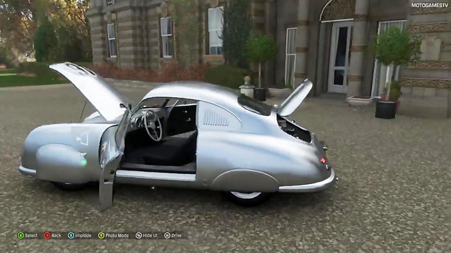 Forza Horizon 4 - 1951 Porsche #46 356 SL Gmünd Coupe Gameplay [4K]