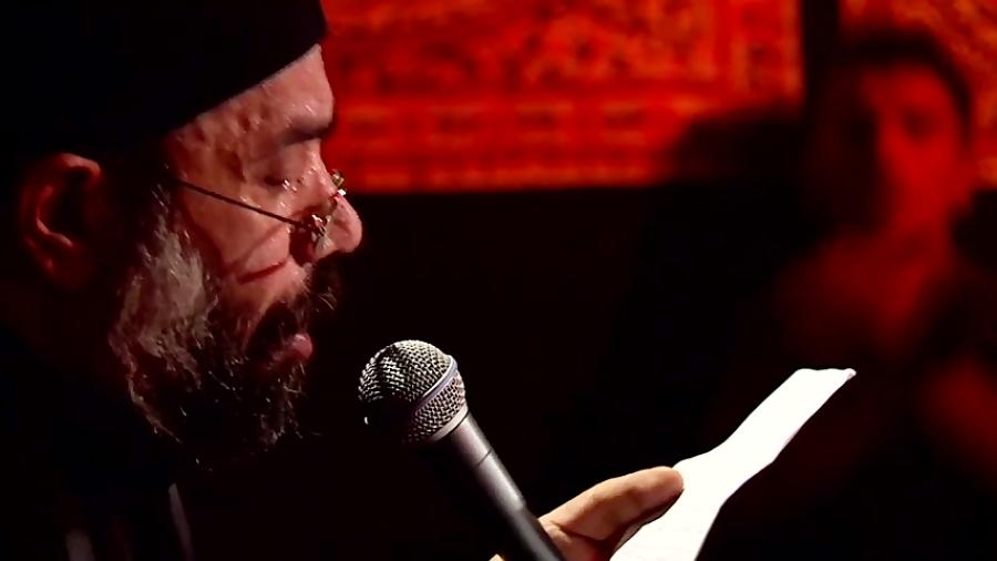 مداحی حاج محمود کریمی - گریونم و تا خیمه ها پر میزنم