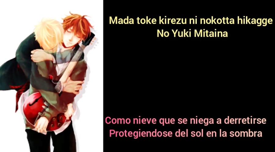 「Fuyu no hanashi」- Given (Mafuyu Sato) [Romaji, Español, Lyrics]
