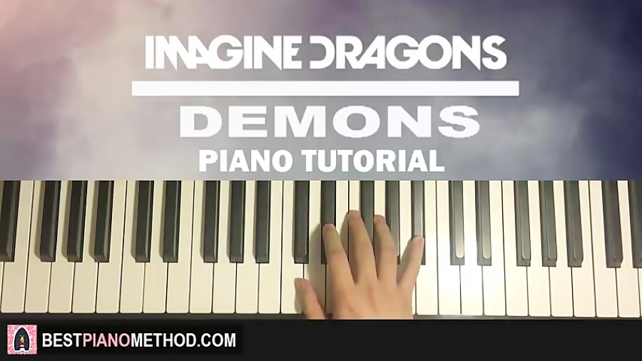 HOW TO PLAY - Imagine Dragons - Demons (Piano Tutorial Lesson)