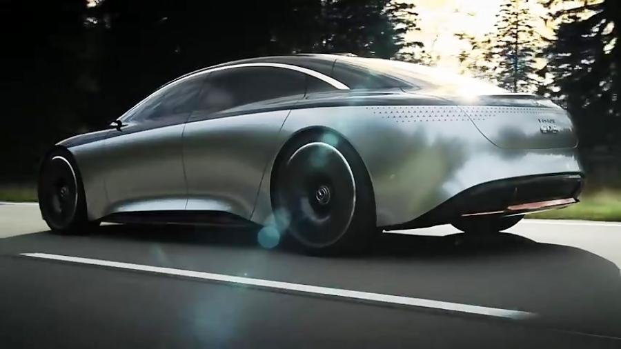 تیزر رسمی معرفی خودرو مفهومی Mercedes Benz VISION EQS