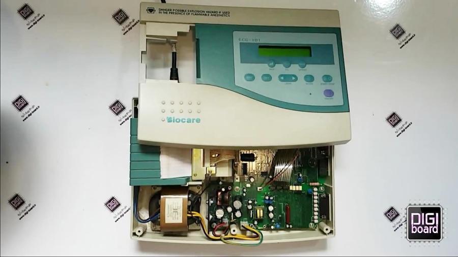 تعمیر دستگاه نوار قلب ECG