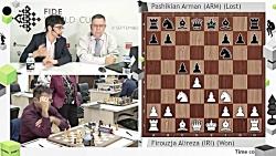 روز اول جام جهانی شطرنج...