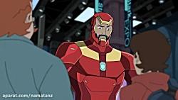 انیمیشن مرد عنکبوتی فصل 1 قسمت 8 - marvel spider man