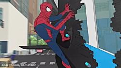 انیمیشن مرد عنکبوتی فصل 2 قسمت 8 - marvel spider man