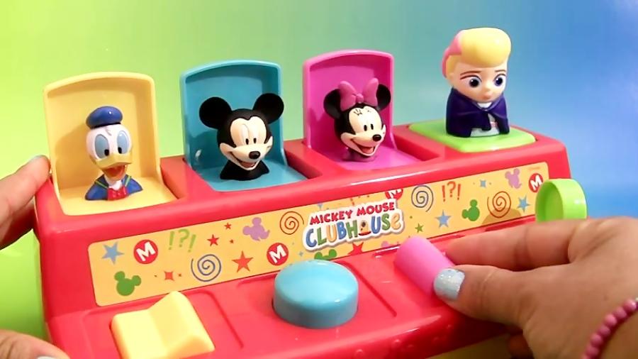 بازی با اسباب بازی های شانسی Pop-up Toys