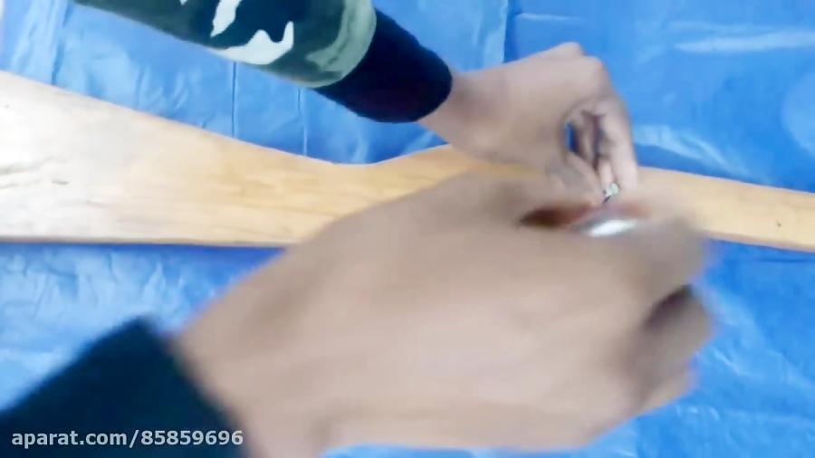 ساخت تفنگ بادی قسمت (2)