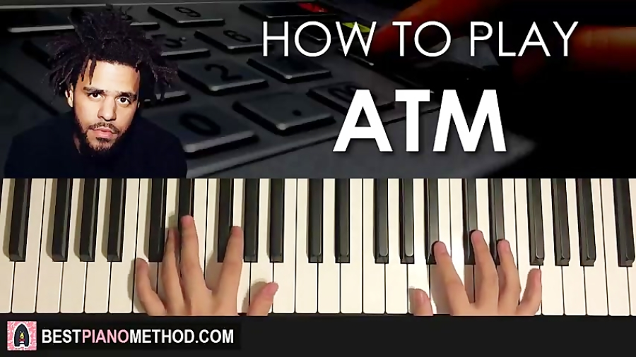 HOW TO PLAY - J. Cole - ATM (Piano Tutorial Lesson)