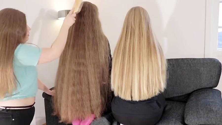 چالش موهای خیلی بلند - چه موهای قشنگی