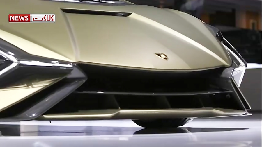 رونمایی از اولین خودرو هیبریدی لامبورگینی
