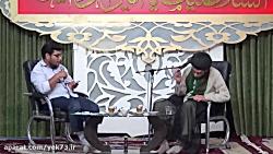 پخش موسیقی حرام در سالن...