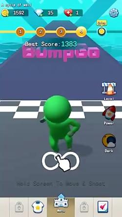 Bump Go—fun parkour
