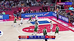 خلاصه بازی فرانسه 67 - 59 ...
