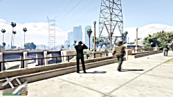 جان ویک در GTA V زبان فارسی+ مکان جان ویک در بازی