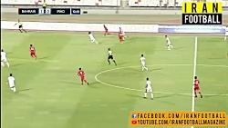خلاصه بازی عراق و بحرین...