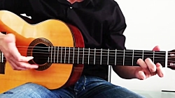 آموزش گیتار بهت قول میدم (ملودی کامل + آکورد) ا