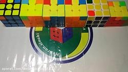 اموزش حل سرعتی روبیک 3در3(قسمت پنجم zbll)