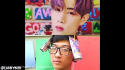 مسخره کردن GOT7 توسط Justin  Adam آهنگ Lullaby