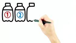 آموزش نقاشی و رنگ آمیزی بطری