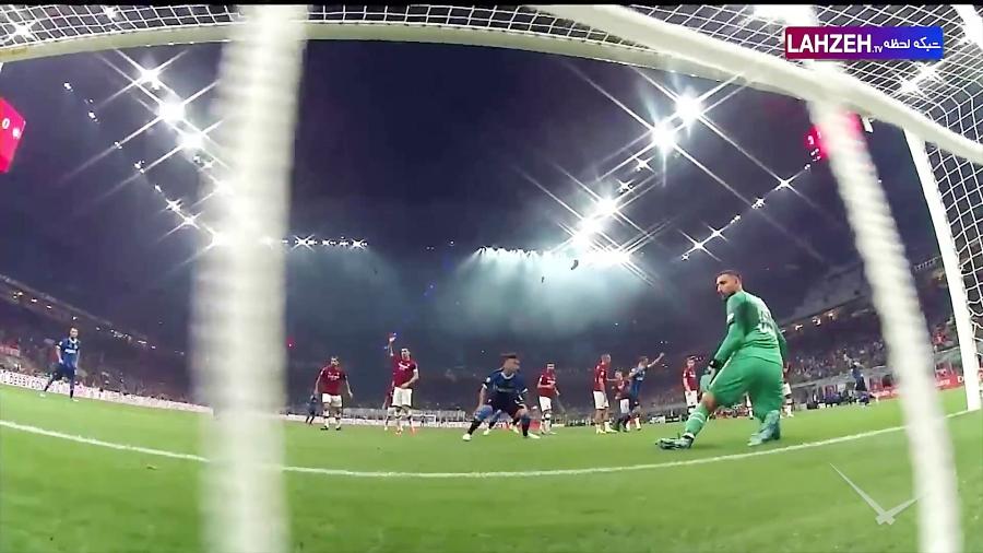 خلاصه بازی آث میلان 0 - 2 اینتر میلان  هفته چهارم سری آ ایتالیا