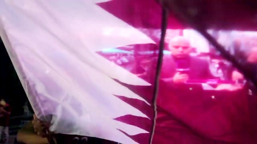 فلسطین اعلام لوگوی جام جهانی را جشن می گیرد | جام جهانی قطر 2022
