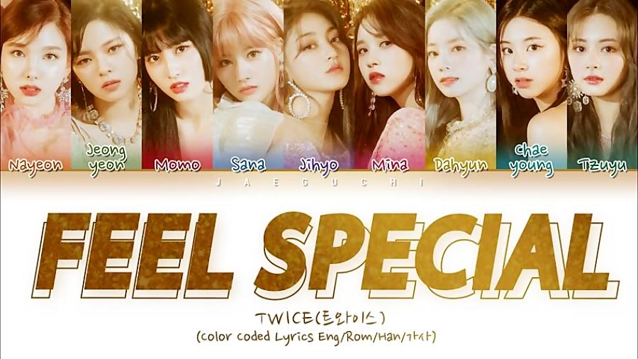 "TWICE ""Feel Special"" (آهنگ احساس خاص بودن از توایس)"