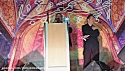 مراسم شب تاسوعا تجمع هیئت های کوی انقلاب اهواز