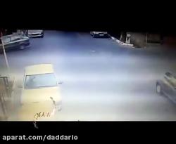 حمله وحشیانه با چاقو به راننده پژو 206