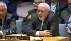 سخنرانی ظریف، وزیر امور خارجه جمهوری اسلامی ایران در شورای امنیت به دعوت روسیه