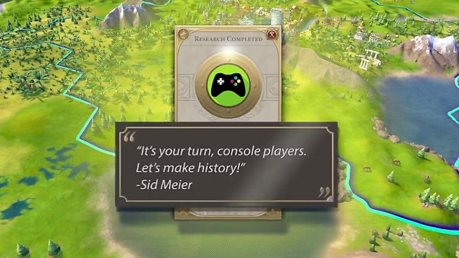 بازی Civilization VI در ماه نوامبر به PlayStation 4 و Xbox One میآید